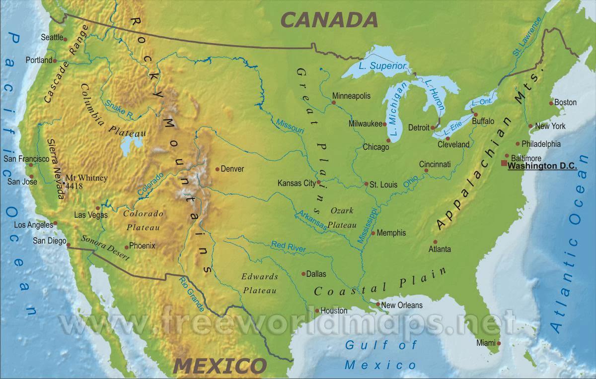 USA Blog- Die USA ist wunderbar- Wissen: Die Rocky Mountains