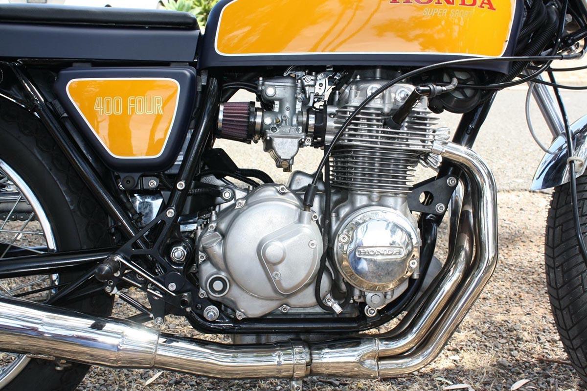Motor Klasik Honda CB400F 1976