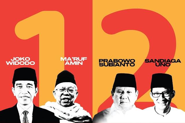 Hasil Survei Puskaptis Mirip Internal BPN Prabowo-Sandi, Febuari Ungguli Paslon 01