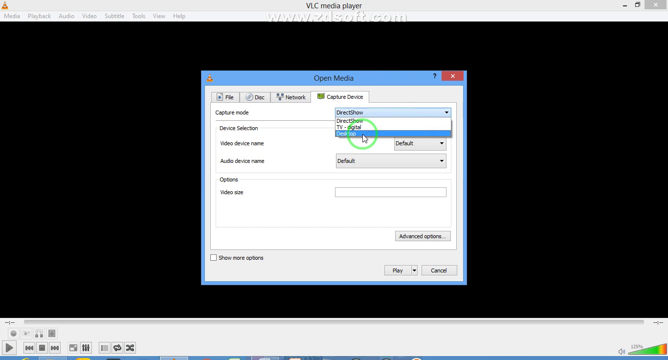 VLC multimedia player se laptop &Computer screen recoding kaise kare ...