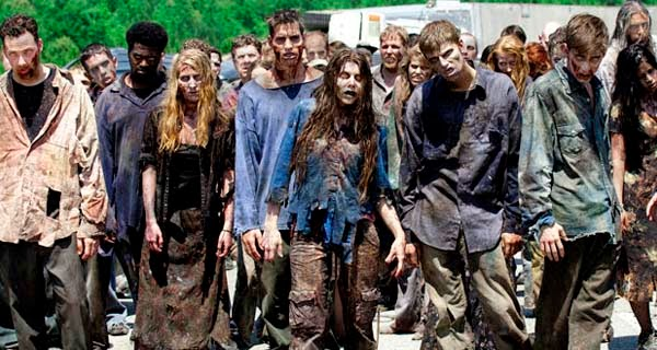 zombis de The Walking Dead