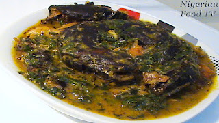 nigerian soup recipes, ofe owerri