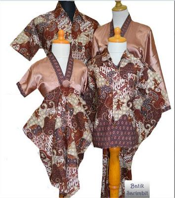 Busana Batik Untuk Couplean Terbaru April 2016