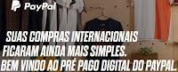 Cartão de Crédito Internacional Paypal
