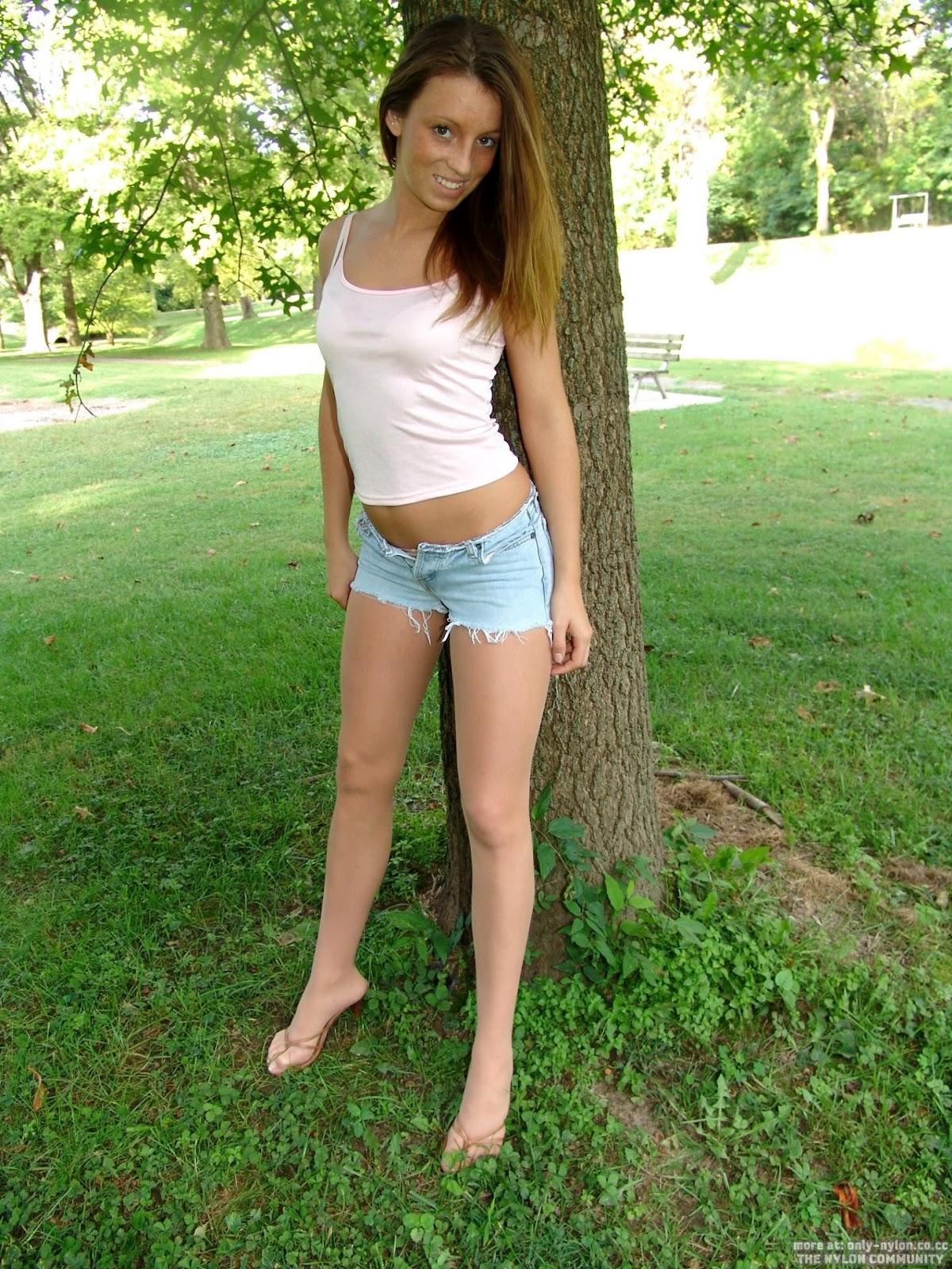 Daisy dukes and pantyhose pics