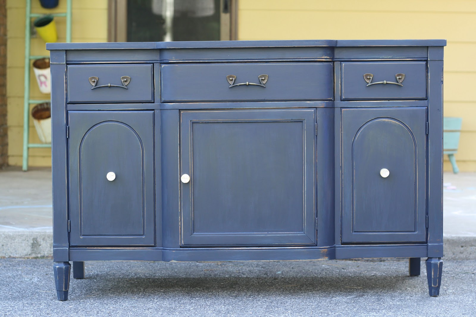 Thinking about Navy Cabinets, Gray Floors, and more! - Cassie Bustamante