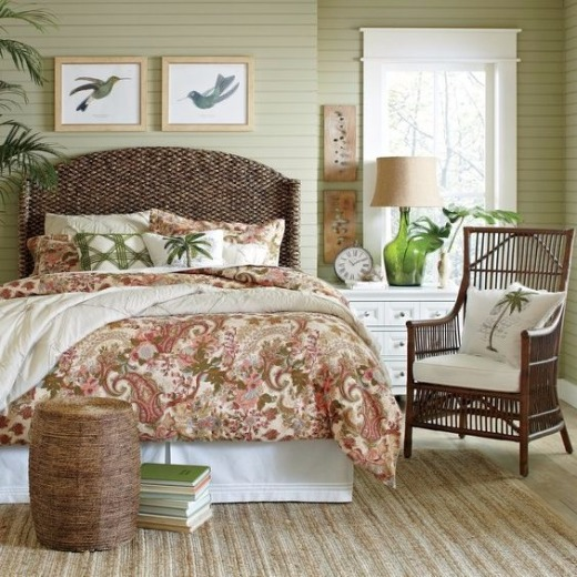 Tropical Bedroom Decor Ideas