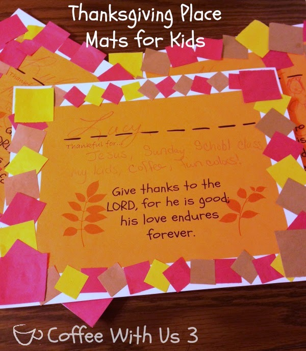 http://www.coffeewithus3.com/thanksgiving-placemats-for-kids/