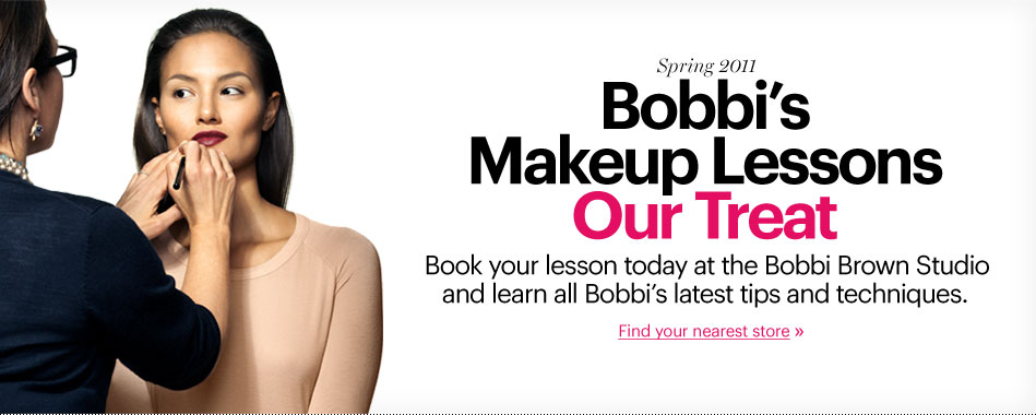 FREE Make Up Lesson by Bobbi Brown