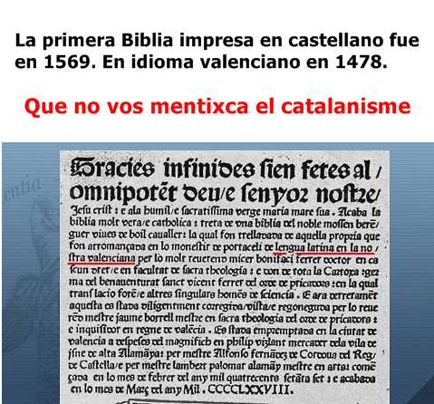 Biblia en valencià, 1478, de lengua latina en la nostra valenciana per lo molt reuerens micer bonifaci ferrer