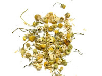 乾燥したカモミールジャーマンの花