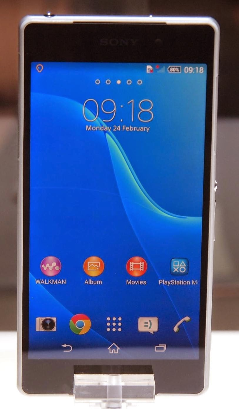 Harga Smartphone Xperia Z2