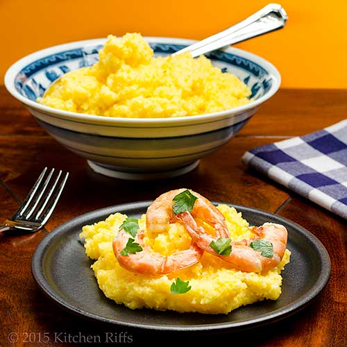 Easy No-Stir Oven Polenta