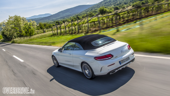 Mercedes C-Class Cabriolet 2016  First Drive Review