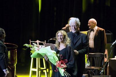 Walter Ríos junto a su esposa, la cantante Mariel Dupetit