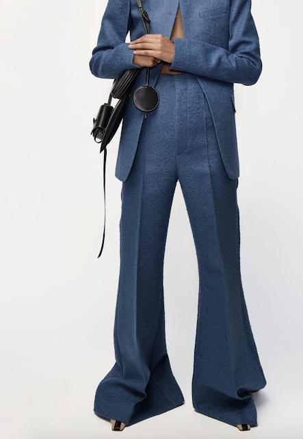 Celine blue suit