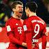 O Darmstadt até tentou parar o Bayern, mas um golaço de Müller não deixou