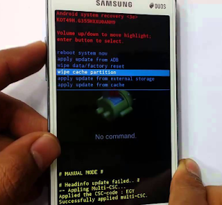 Cara Hard Reset Samsung Duos GT 18262