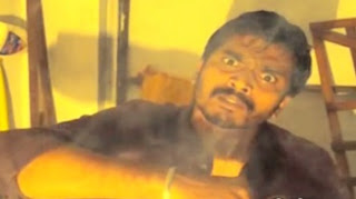 Dhanush challenging best acting scene from pudhupettai recreated