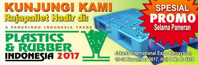 Promo Pallet Plastik Rajapallet di Plaspak 2017 JI Expo Kemayoran Jakarta