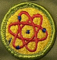 My Atomic Energy Merit Badge.