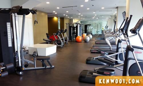novotel hotel gym