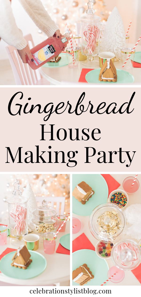 Gingerbread House Making Party by The Celebration Stylist