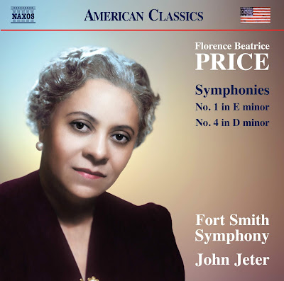 John Jeter: Florence Price CD on Naxos has been in Billboard s top 20 Classical list for 4 weeks