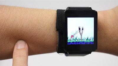 تقنية جديدة تحول بشرتك إلى شاشة تعمل باللمس
