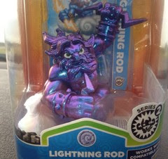 Metallic Purple Skylander Figures