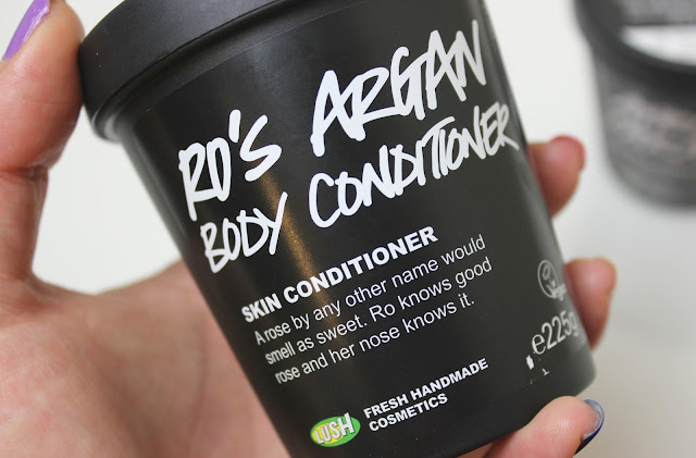 A Lush Ro's Argan Body Conditioner review