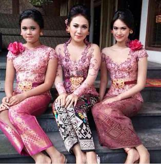 Kebaya Bali Modern 2016