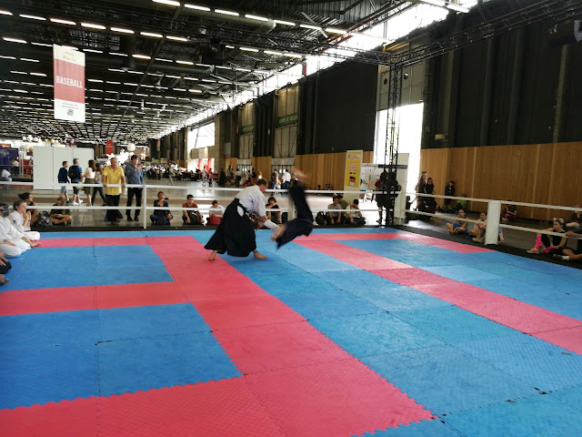 Démonstration Aikibudo à la Japan Expo