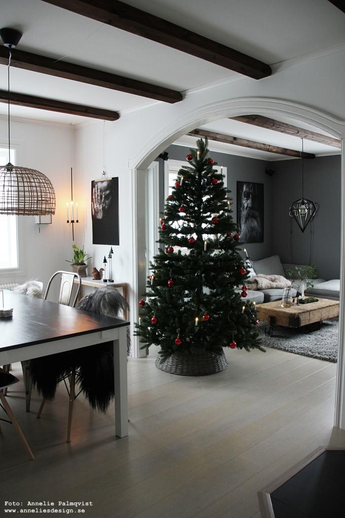 annelies design, webbutik, webbutiker, webshop, vardagsrum, gran, granar, julgran, julgranar, varberg, vardagsrum, vardagsrummet, öppen planlösning, poster, posters, fårskinn, dekoration, jul, julen 2018, blomsterlandet,