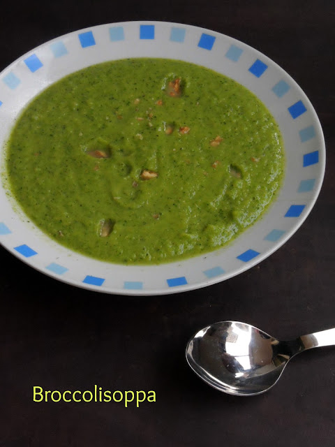 Broccolisoppa, Swedish Broccoli Soup