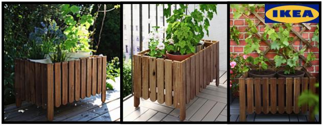 6 Benefits To Planting In Flower Boxes #gardening #IKEA #AskholmenFlowerBox