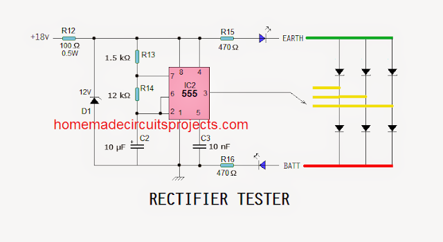 he rectifier section of RR-unit consists of only 6 rectifier diodes
