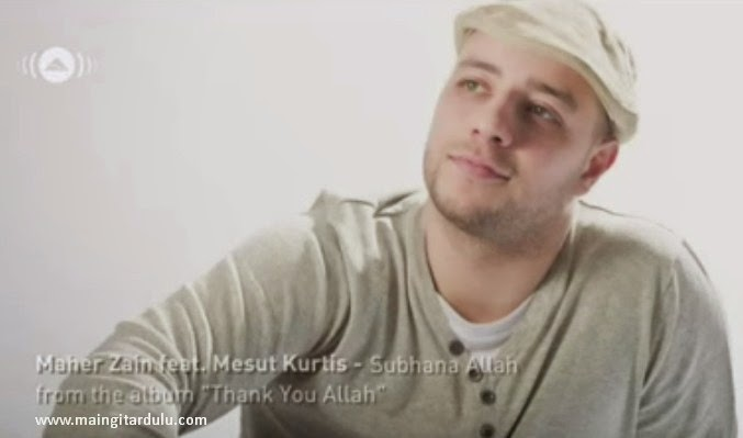 Chord maher zain thank you allah