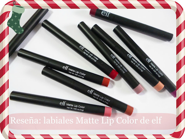 Reseña: Labiales Matte Lip Color de elf