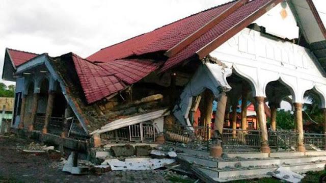 Gempa 6,4 SR Guncang Aceh, 18 Orang Meninggal, Puluhan Rumah Roboh