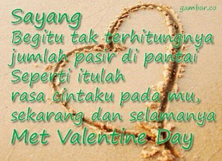 kata kata romantis buat hari valentine