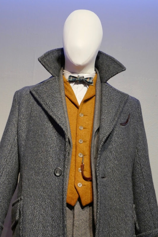 Eddie Redmayne Fantastic Beasts Crimes Grindelwald Newt Scamander costume