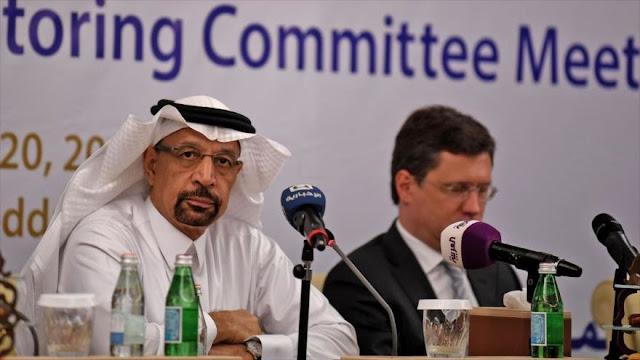Arabia Saudí pide reducir nivel de producción mundial de petróleo