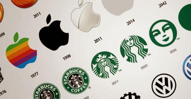 """Nhìn lại logo """"sơ khai"""" của những hãng công nghệ lớn"""