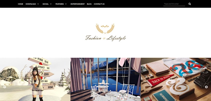 Lifestyle Free Blogger Template