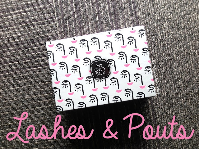 My Envy Box Lashes and Pouts December Beauty Box 2016