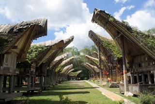 Tongkonan-Toraja Traditional House