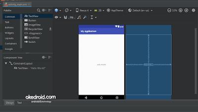 Berhasil mengatasi error render problem layout android studio