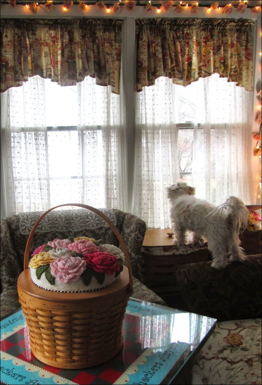 Costco Easter Baskets: Cute Stuff Inside: CROCHET FLOWER BASKET