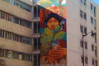 Sunday Street Art : Alapinta Crew - Meher et Aner - Tierra Madre - rue Jeanne d'Arc - Paris 13